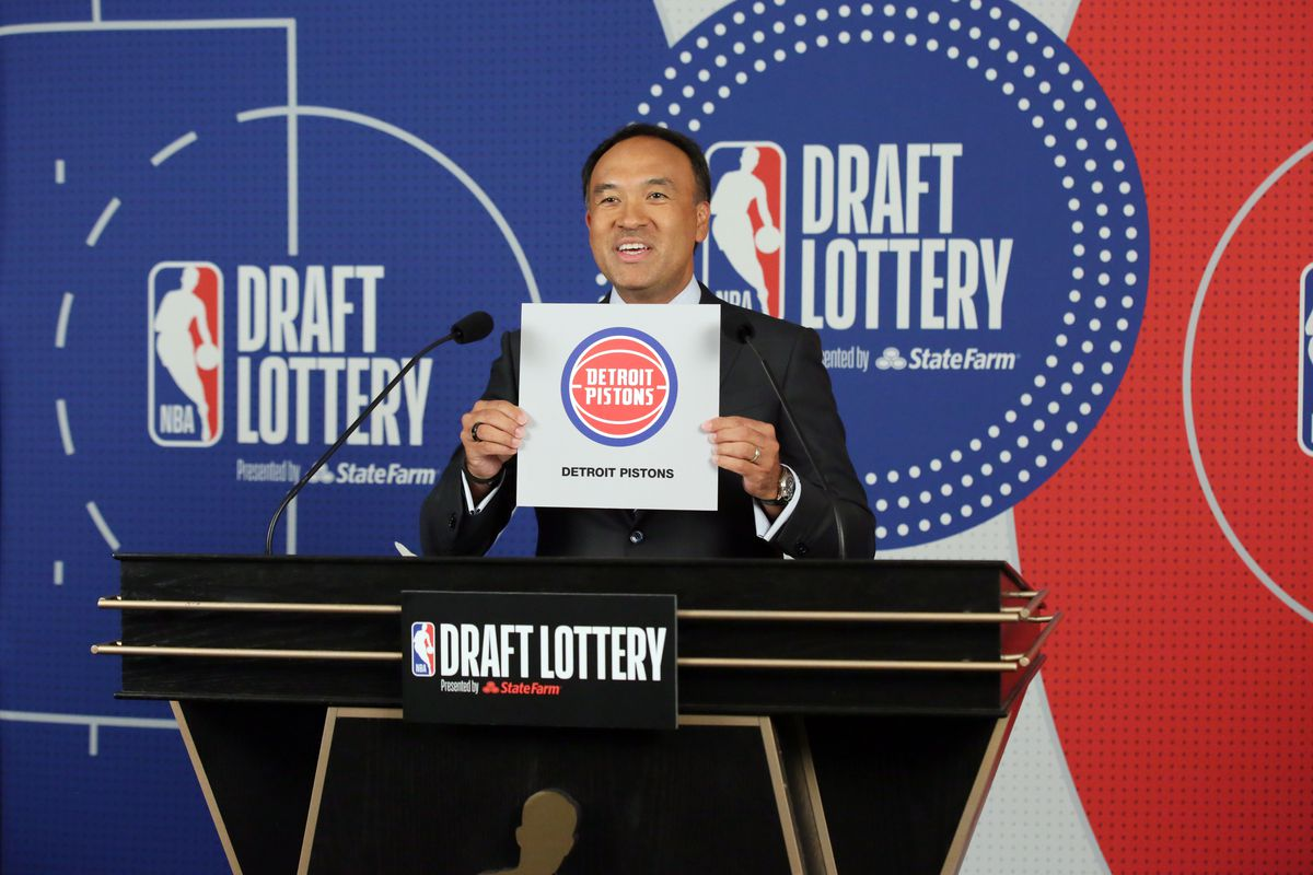 NBA Draft lottery results