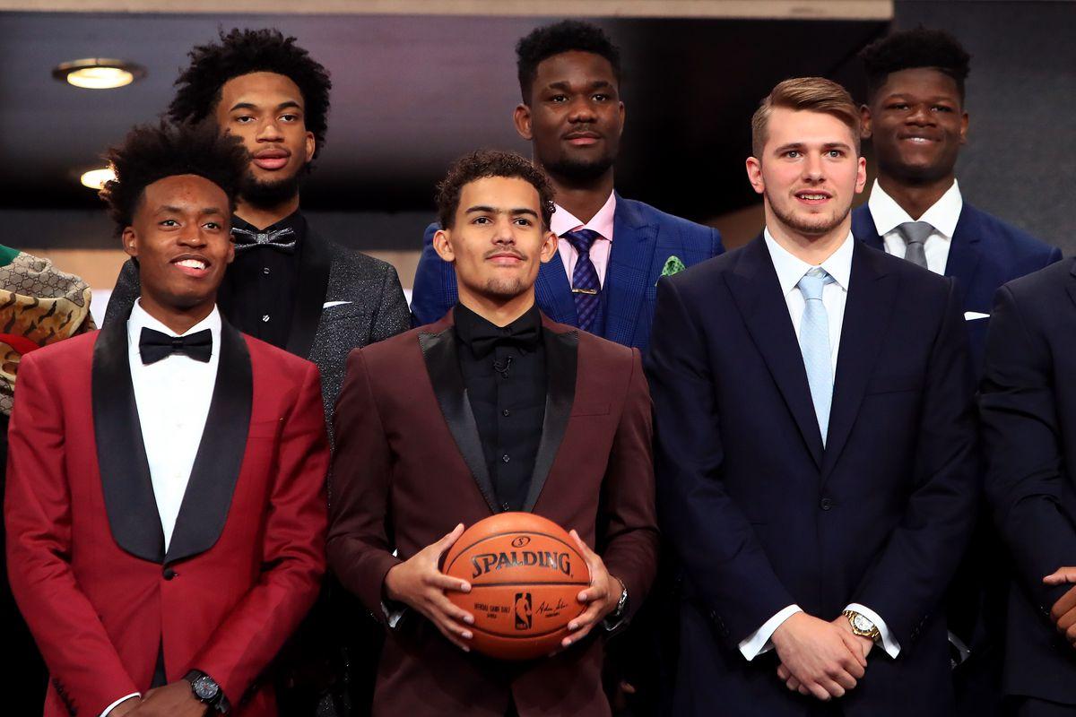 2018 NBA draft night