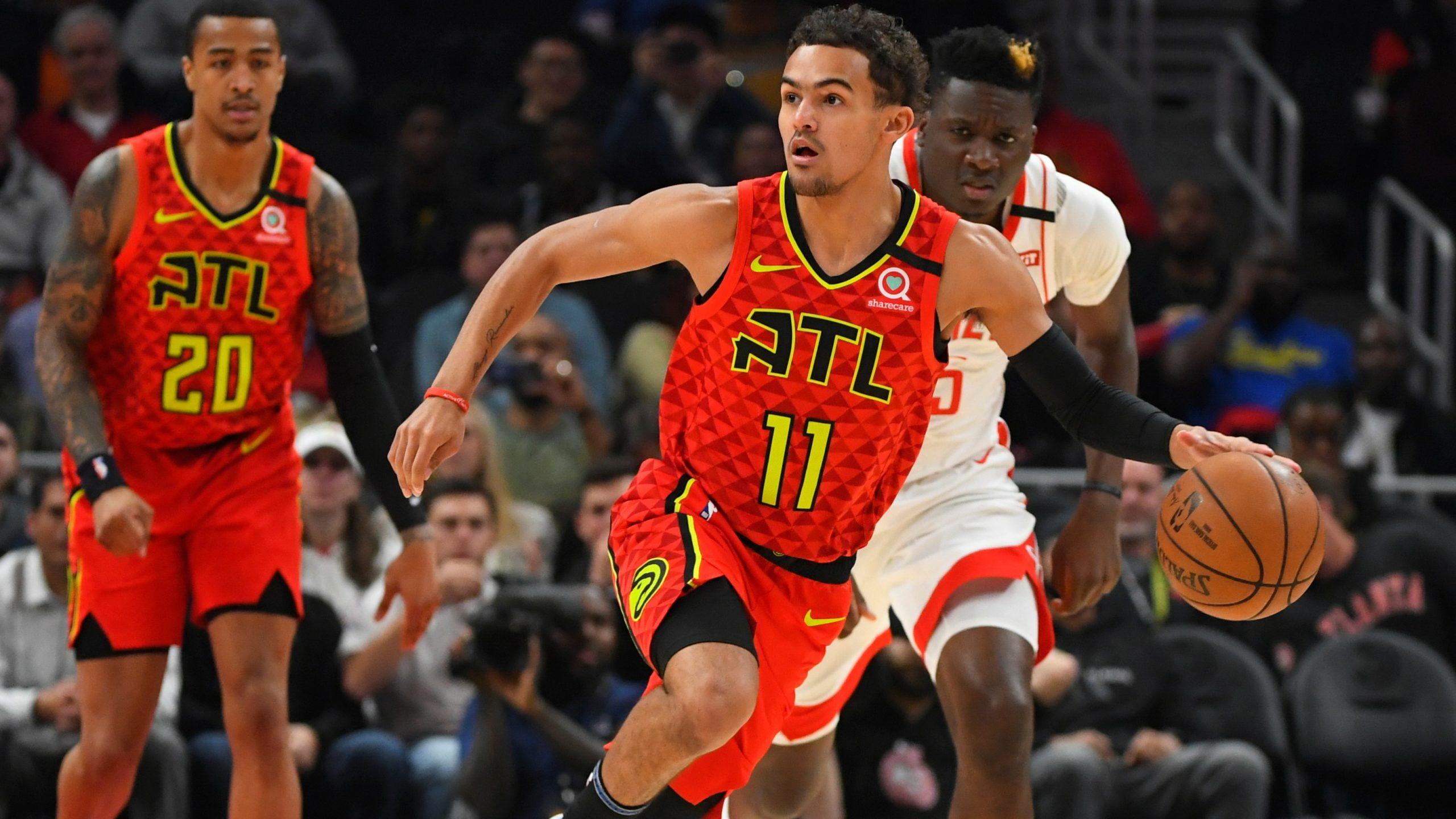 Atlanta Hawks on offense