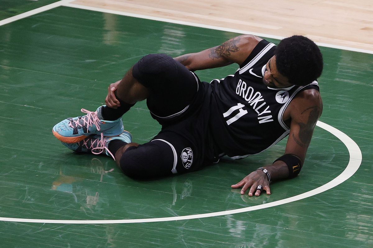 Kyrie Irving injures ankle in NBA playoffs