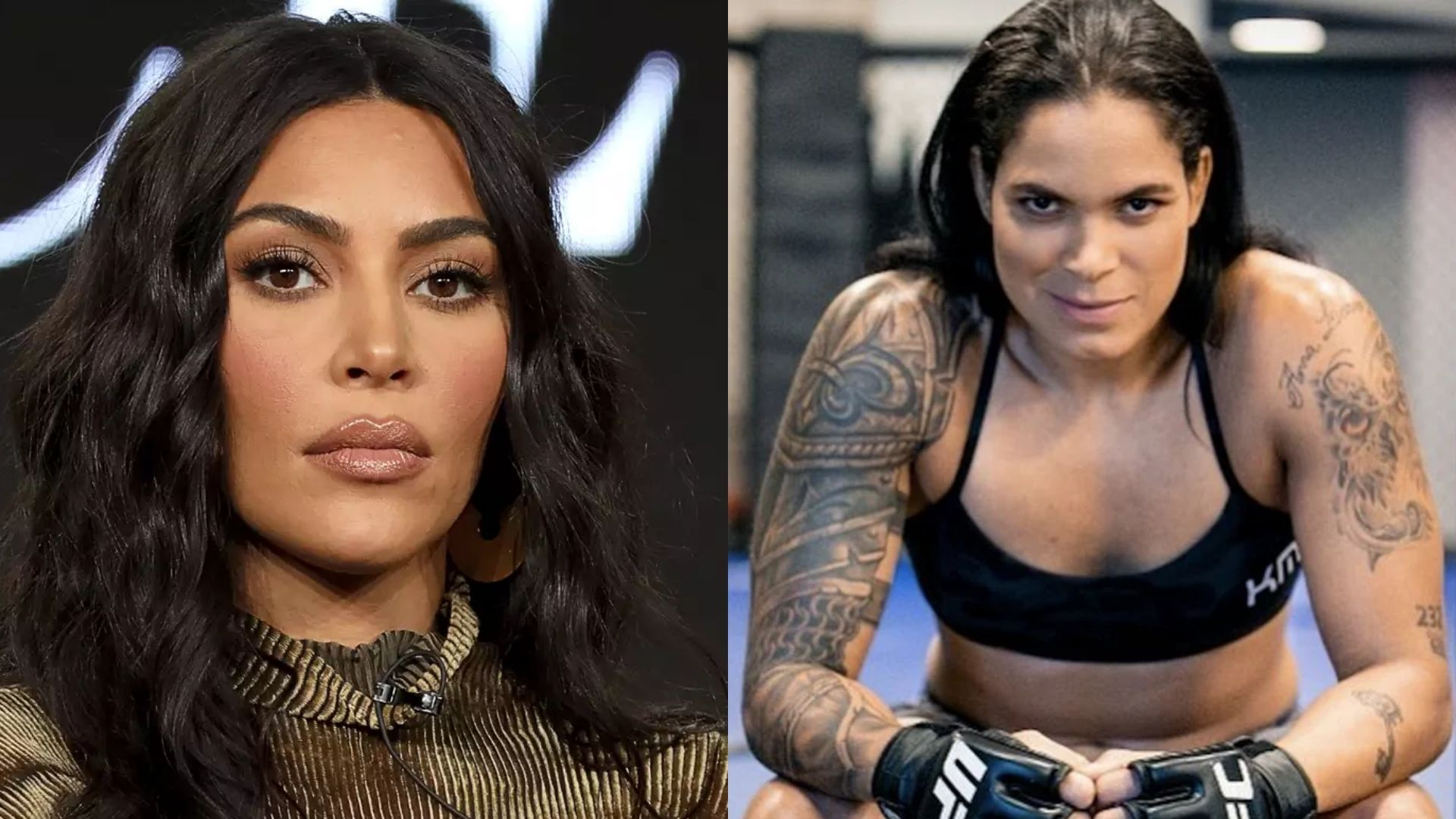 Amanda Nunes proposes a fight to Kim Kardashian
