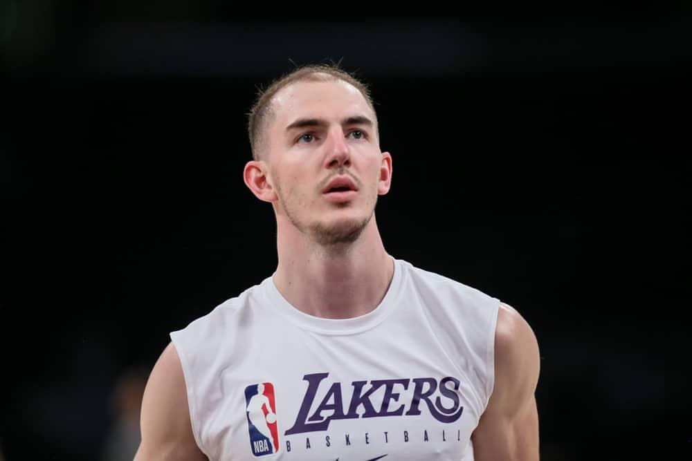 LA Lakers Alex Caruso