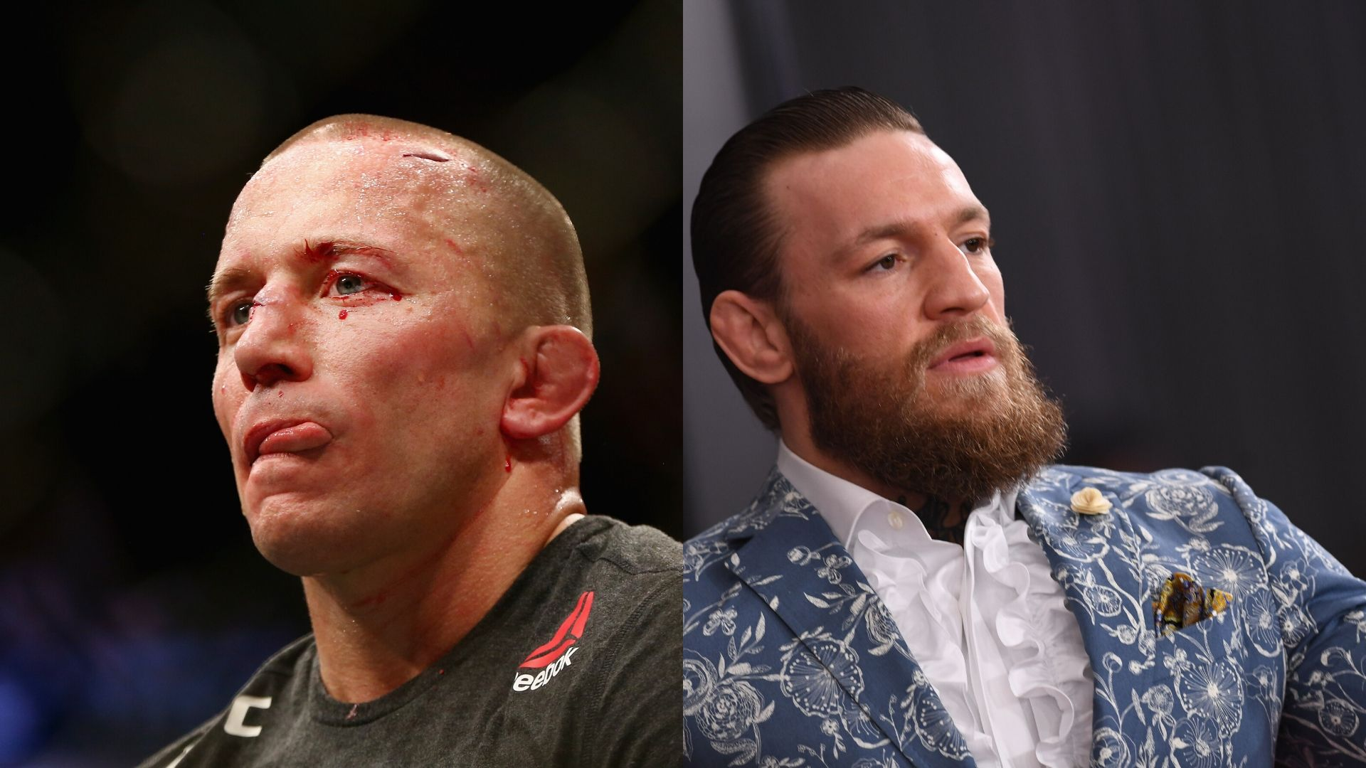Georges St Pierre and Conor McGregor