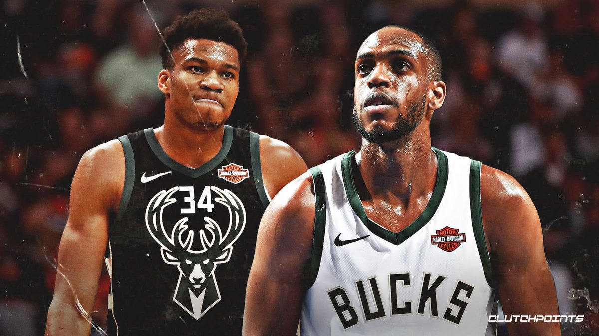 Milwaukee Bucks Giannis and Middleton