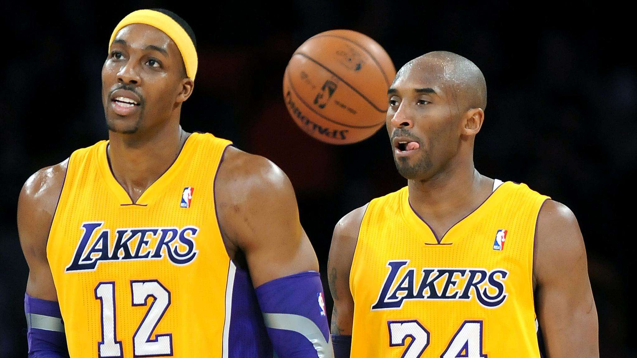 Kobe Bryant and Dwight Howard