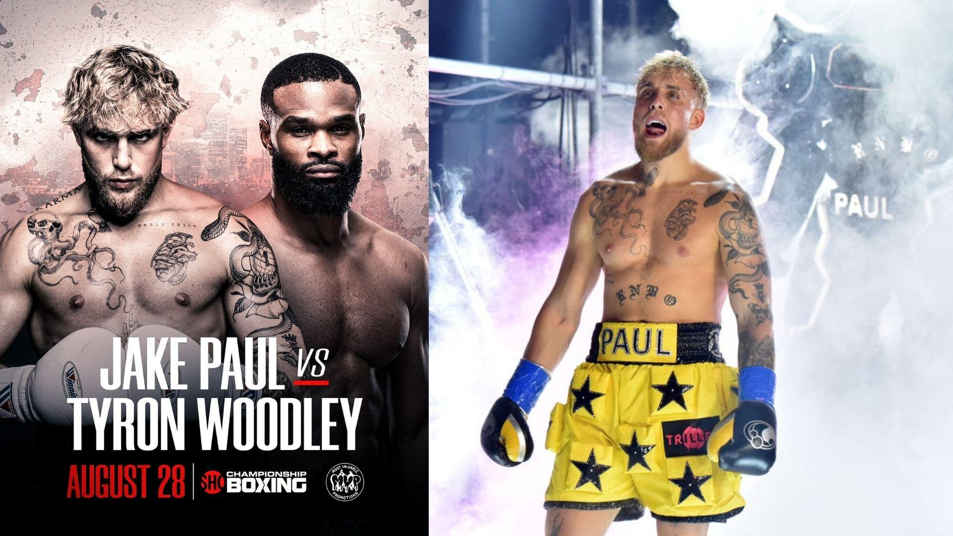 Tyron Woodley vs Jake Paul