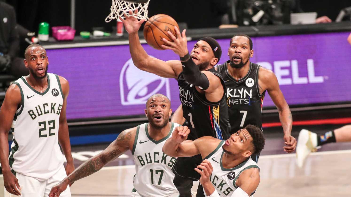 Brooklyn Nets vs Milwaukee Bucks