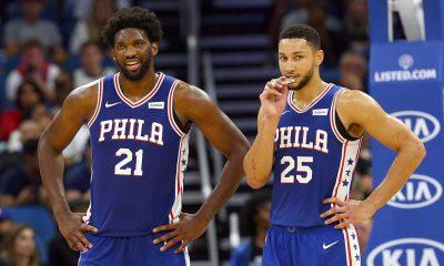 Philadelphia 76ers stars Embiid and Simmons