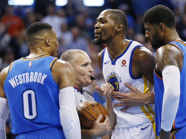 Russell Westbrook and Kevin Durant beef