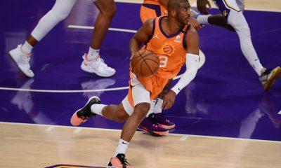 Phoenix Suns Chris Paul on offense