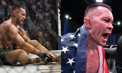 Colby Covington and Conor McGregor