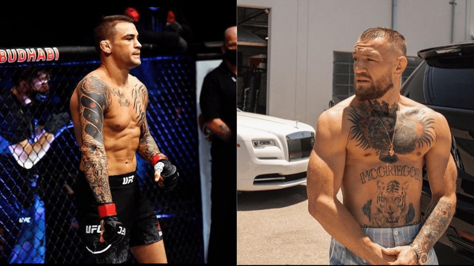 UFC 264, Dustin Poirier and Conor McGregor