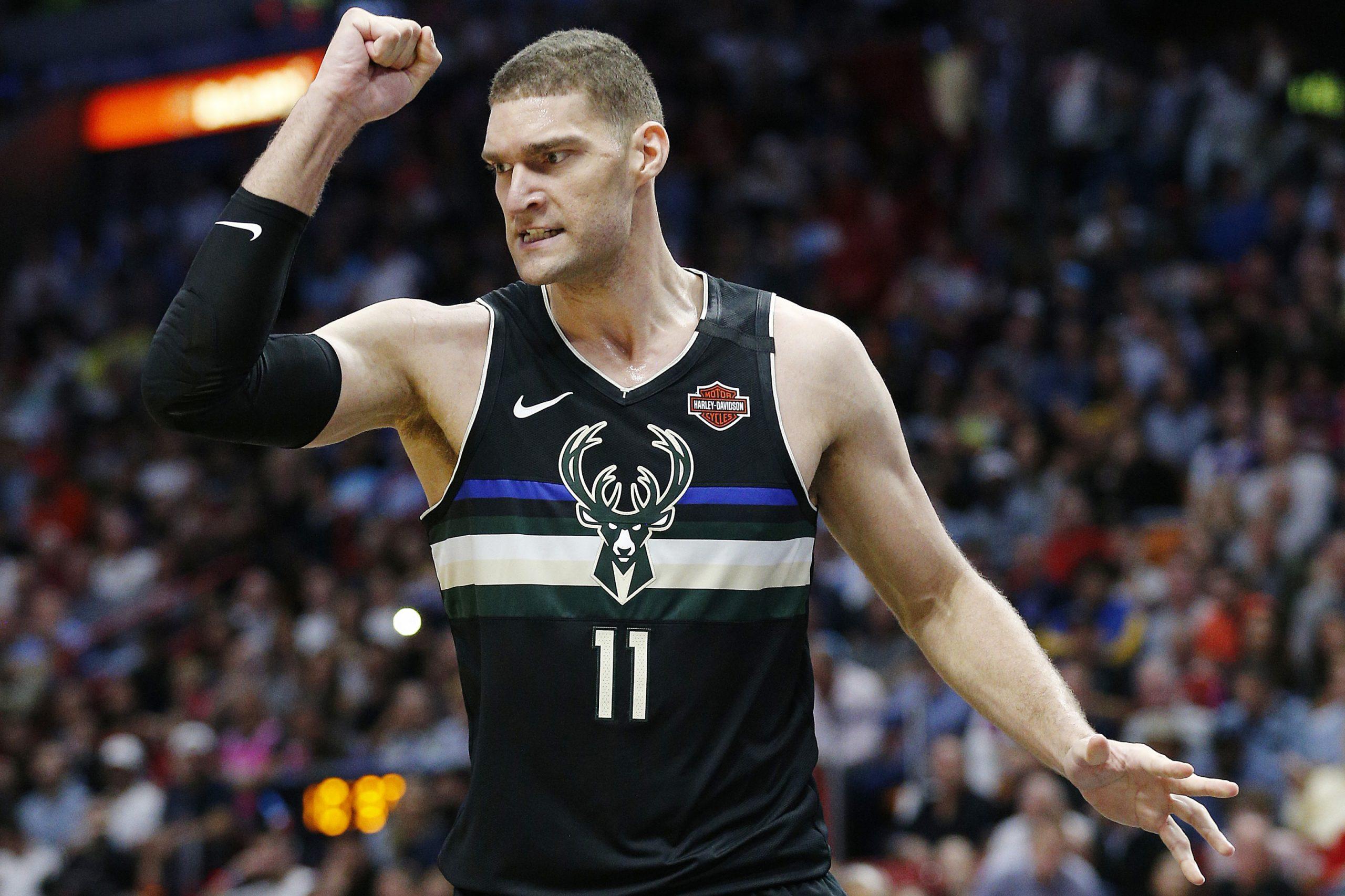 Brook Lopez Milwaukee Bucks 'Underdog of the night'