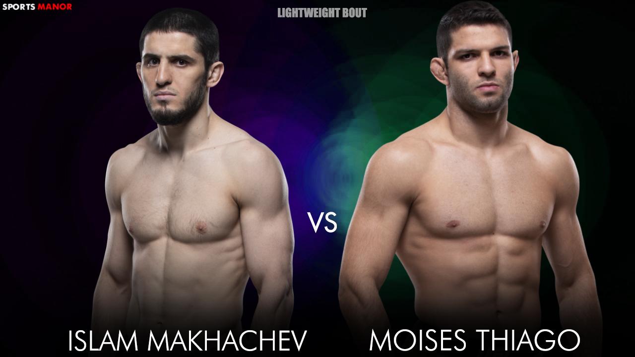 Islam Makhachev vs Thiago Moises