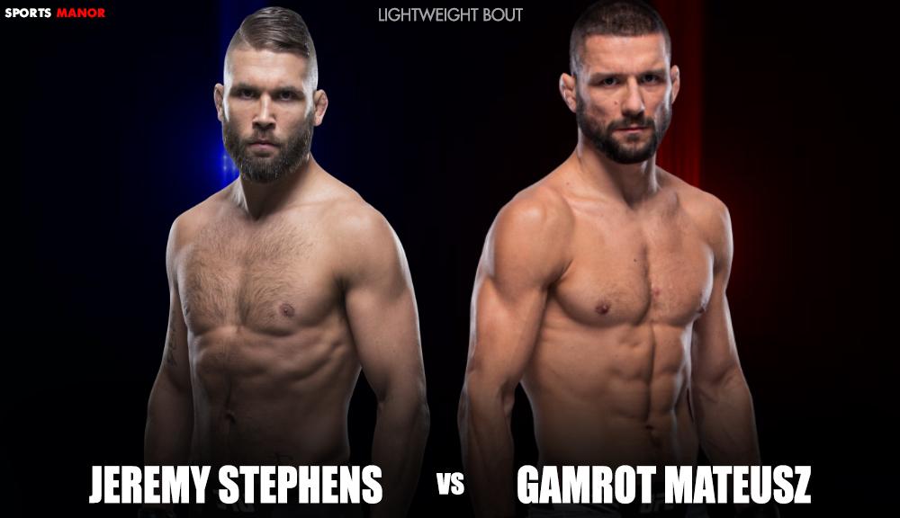 Jeremy Stephens vs Gamrot
