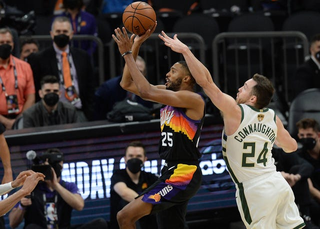 Underdogs of the Night for the Milwaukee Bucks and the Phoenix Suns