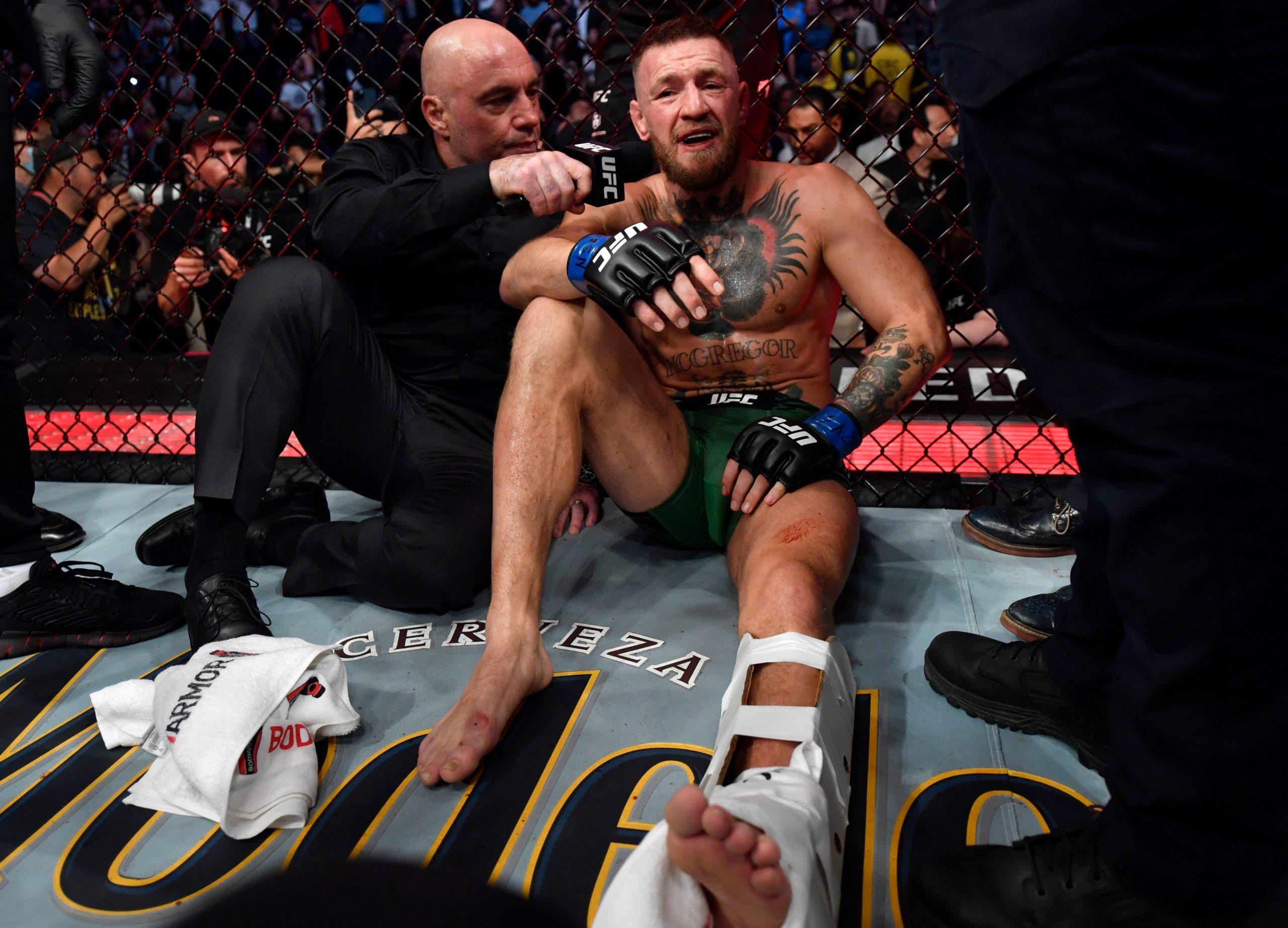 Conor McGregor Leg Injury