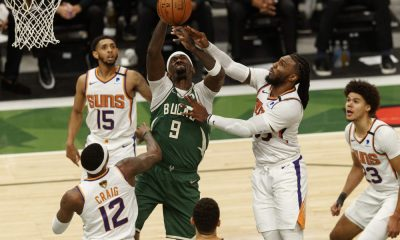 Underdogs of Game 6 of the NBA Finals for the Phoenix Suns and the Milwaukee Bucks