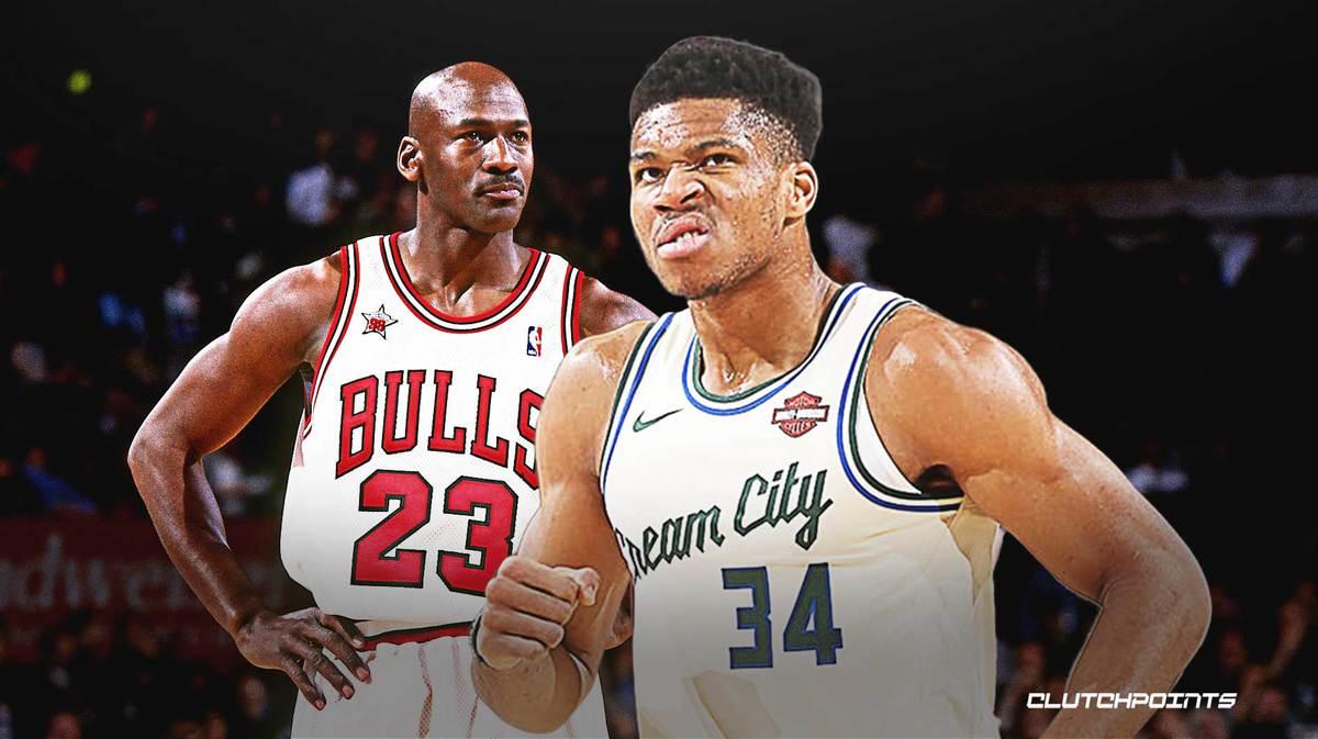 Bucks Giannis Antetokounmpo Michael Jordan