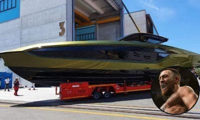 Conor McGregor yacht