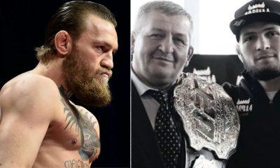 Conor McGregor tweet on Khabib's father