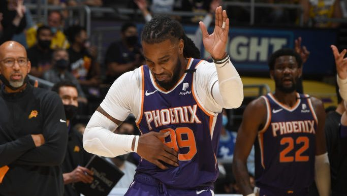 Jae Crowder of the Phoenix Suns, Underdog of the night