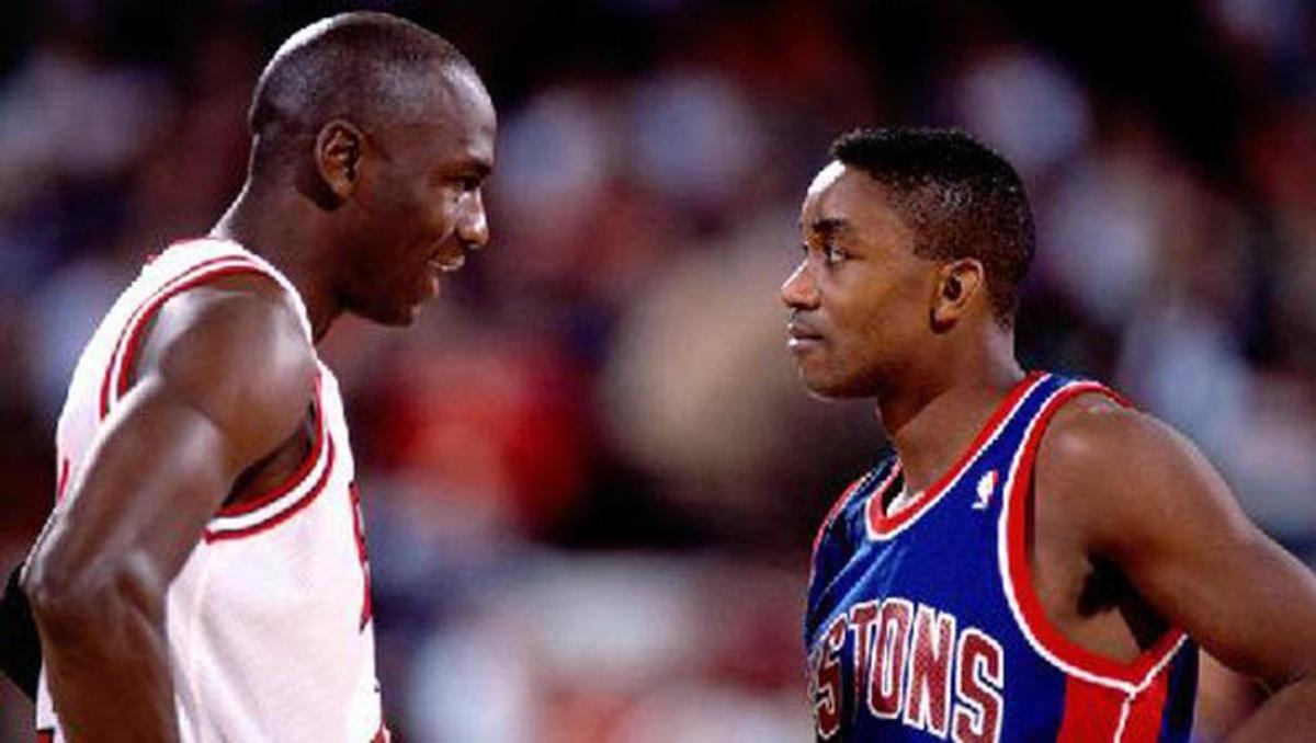 Michael Jordan vs Isiah Thomas