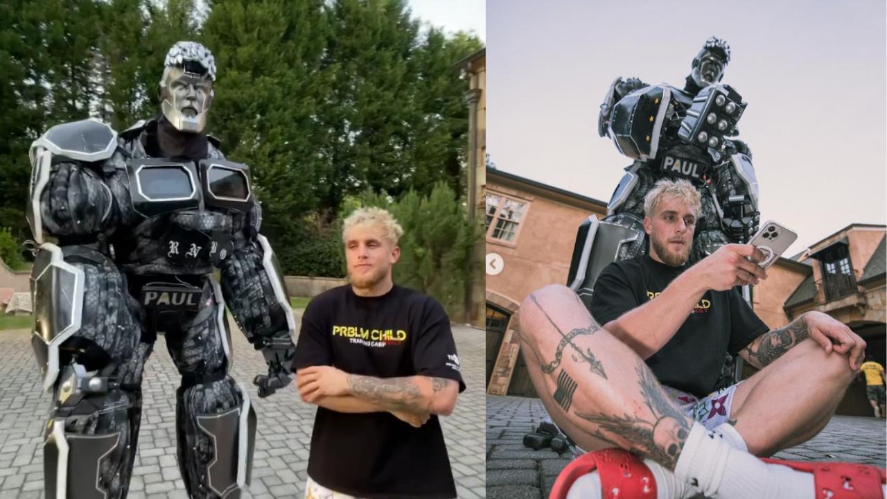Jake Paul's robot