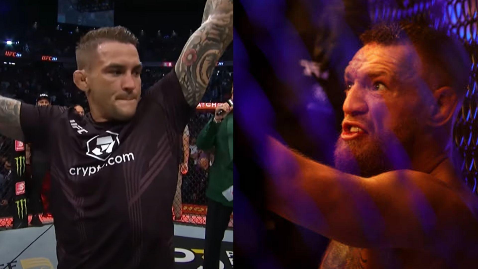 Poirier mocks McGregor