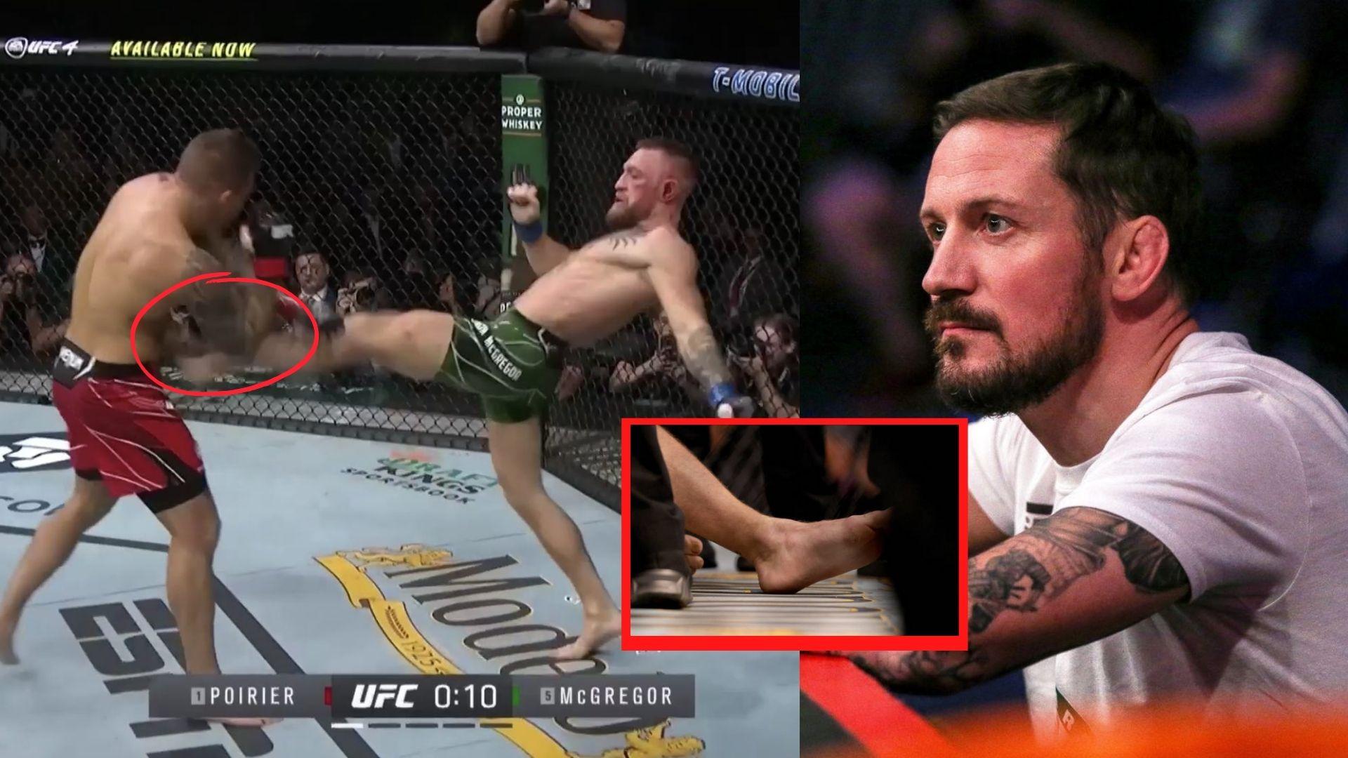 Kavanagh reveals how McGregor broke his leg