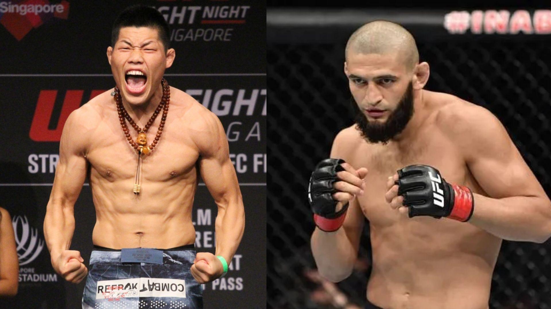 Khamzat Chimaev Set to Fight Li Jingliang at UFC 267