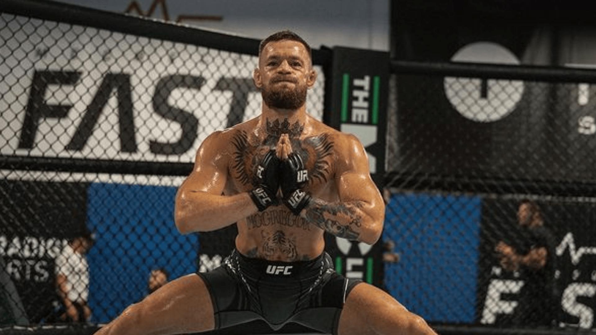 McGregor ahead of UFC 264