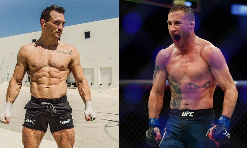 UFC 268 Justin Gaethje vs Michael Chandler