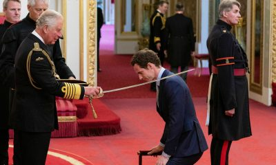 andy murray receiving knighthood