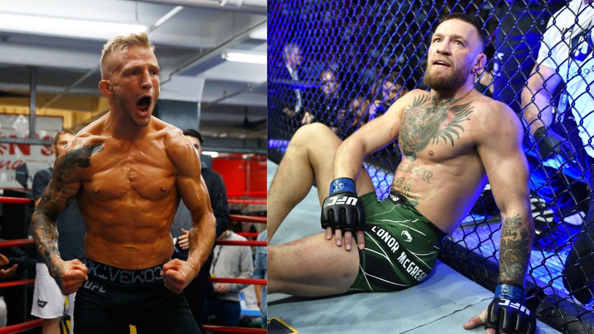 Conor McGregor and TJ Dillashaw