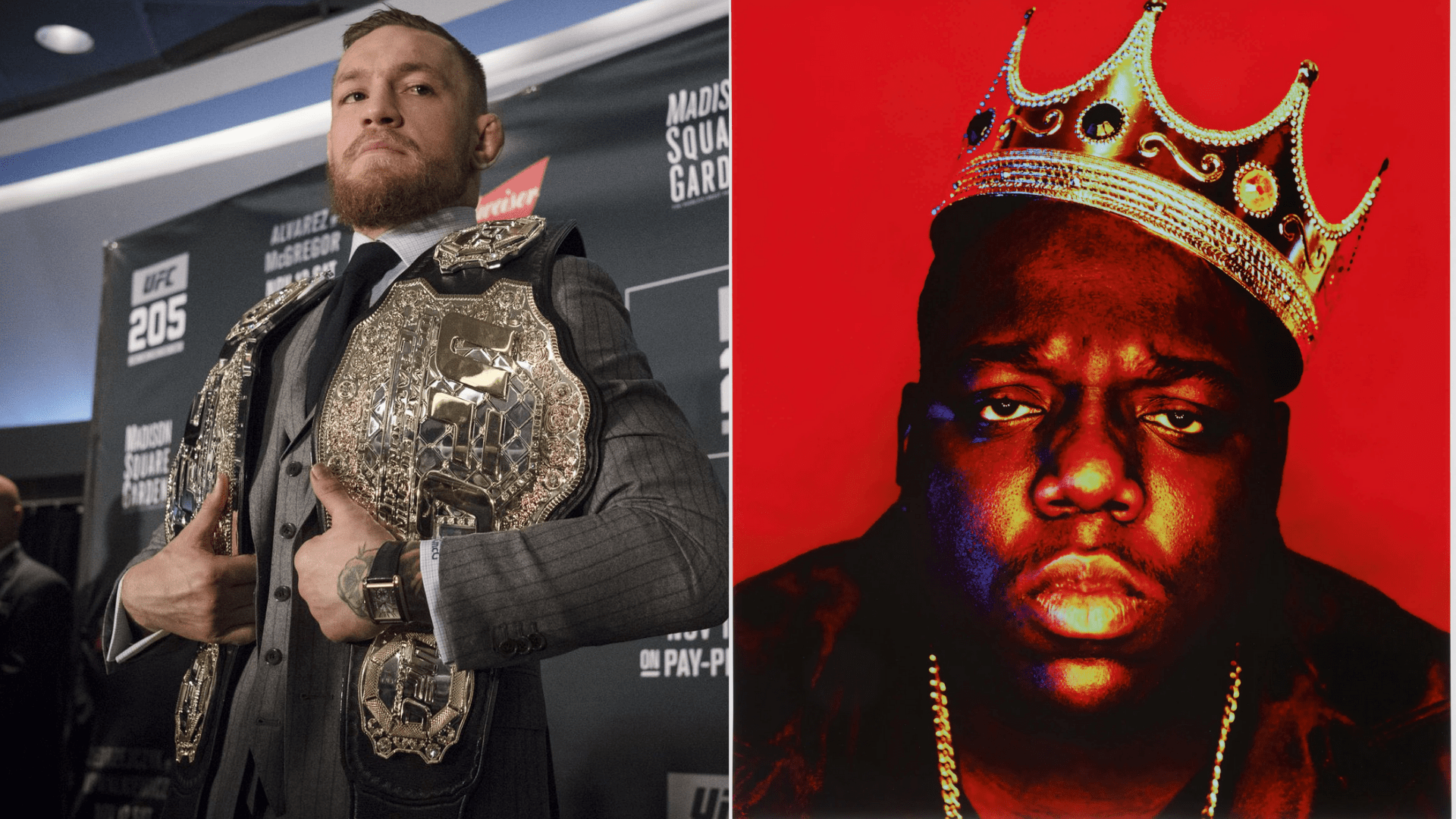 Conor McGregor pays tribute to Notorious B.I.G.