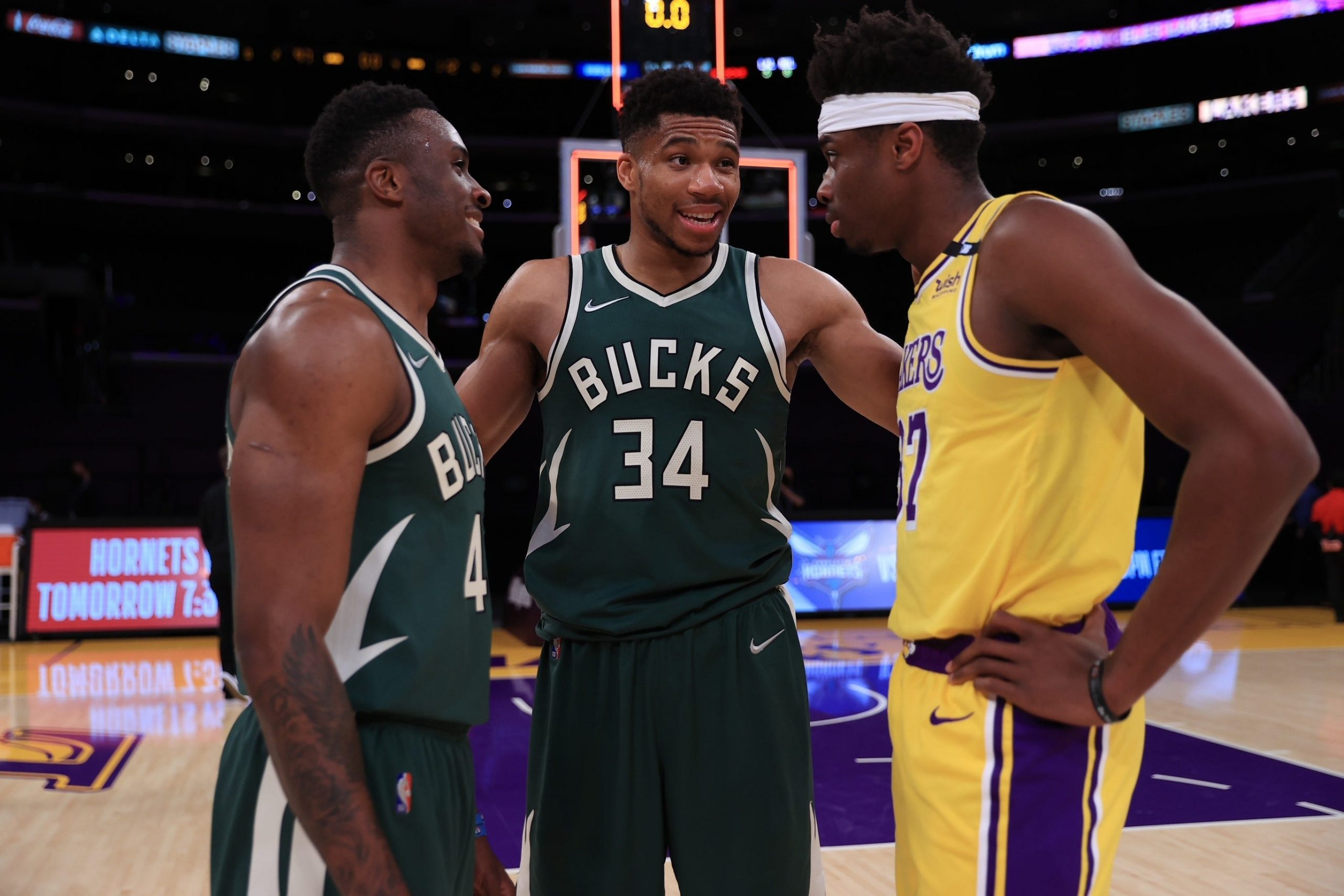 Giannis Antetokounmpo and his brothers
