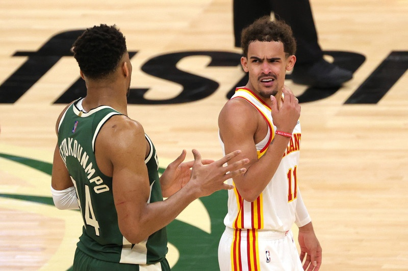 Is Trae Young going to play in game 5?