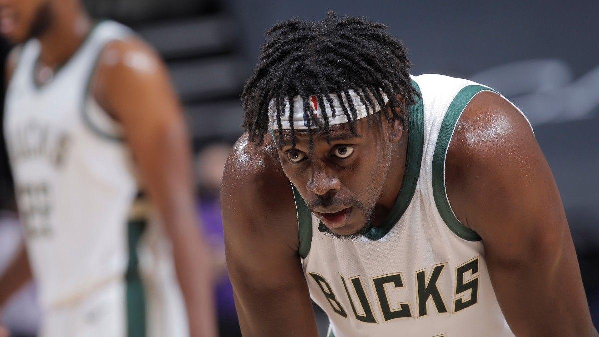 Milwaukee Bucks Jrue Holiday gassed out
