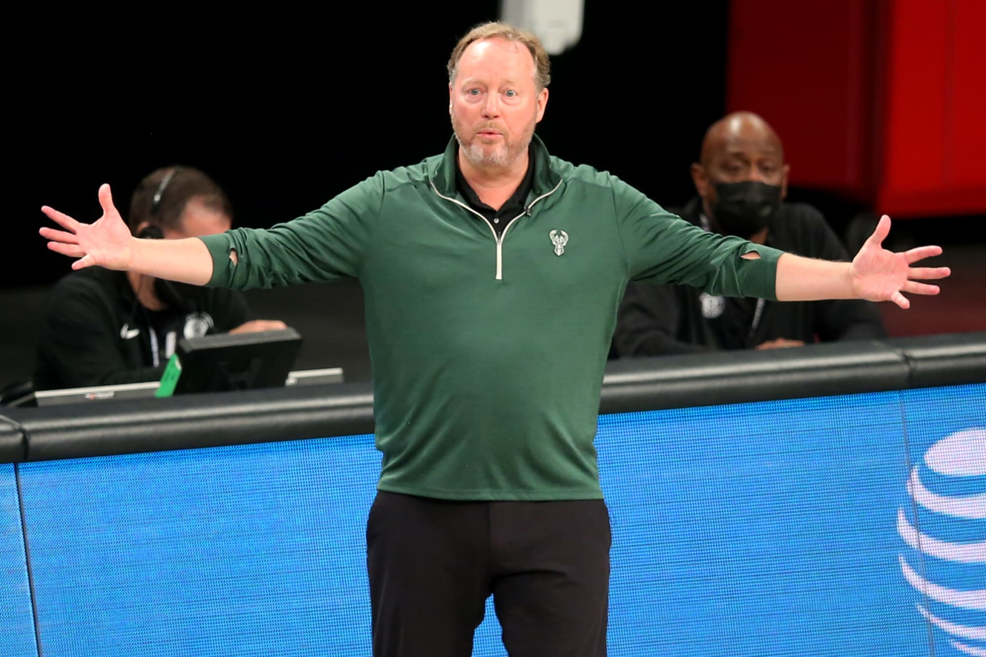Milwaukee Bucks coach upset