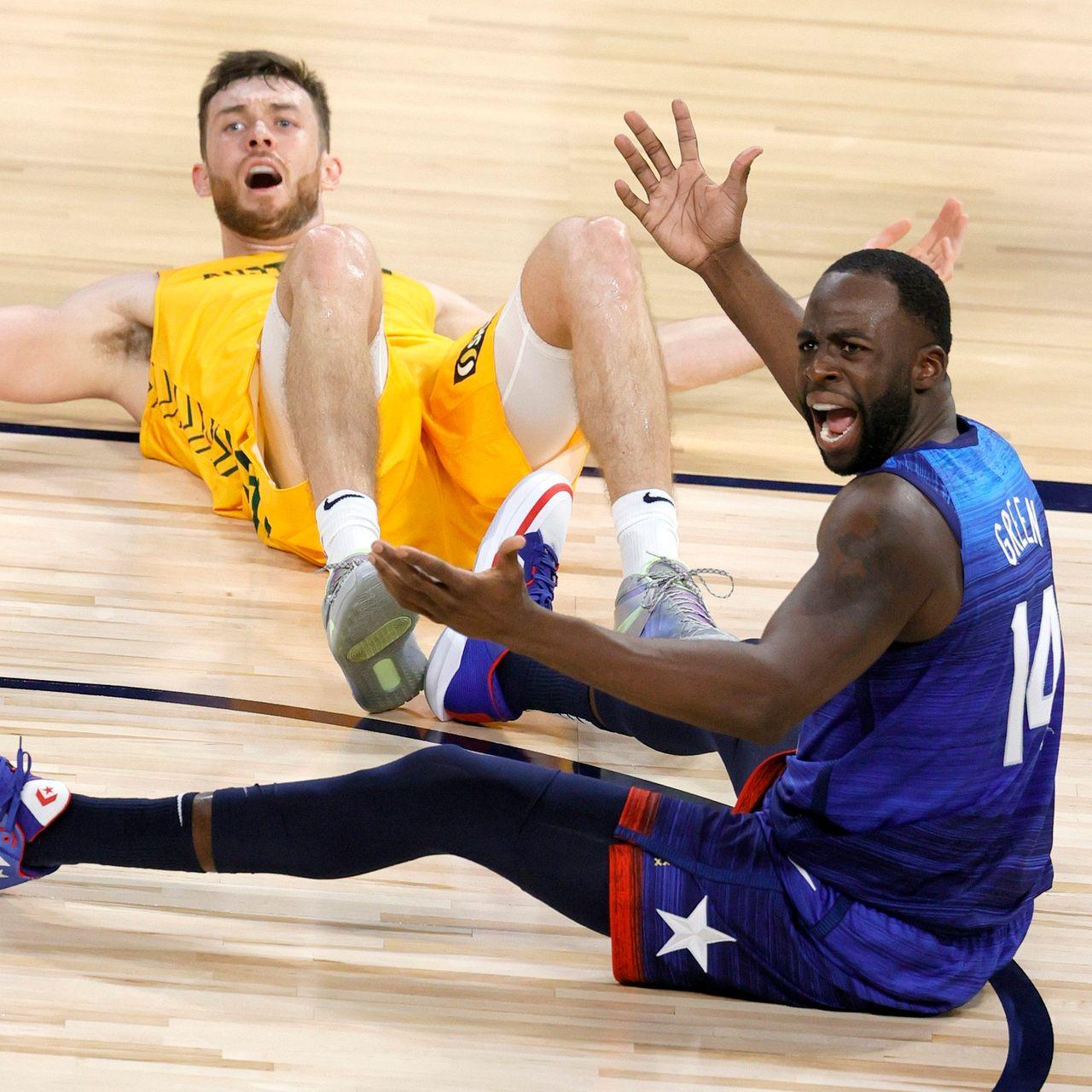 Team USA Draymond Green upset