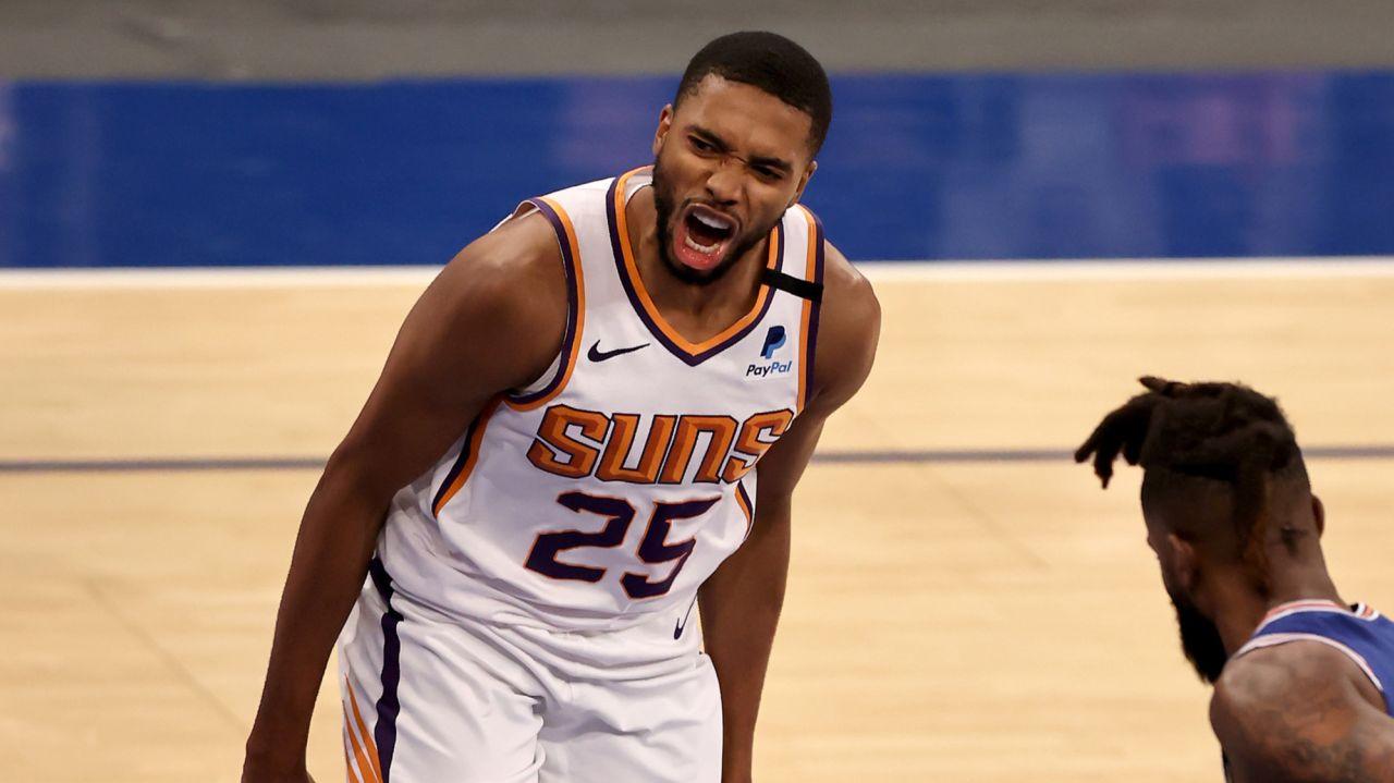 Mikal Bridges Phoenix Suns 'Underdog of the night'