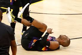 Phoenix Suns Chris Paul injured