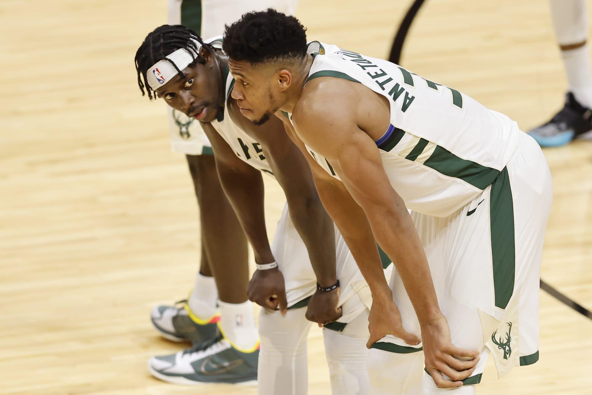 Milwaukee Bucks superstars contemplate defeating Phoenix Suns