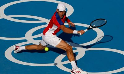 Novak at Tokyo Olympics
