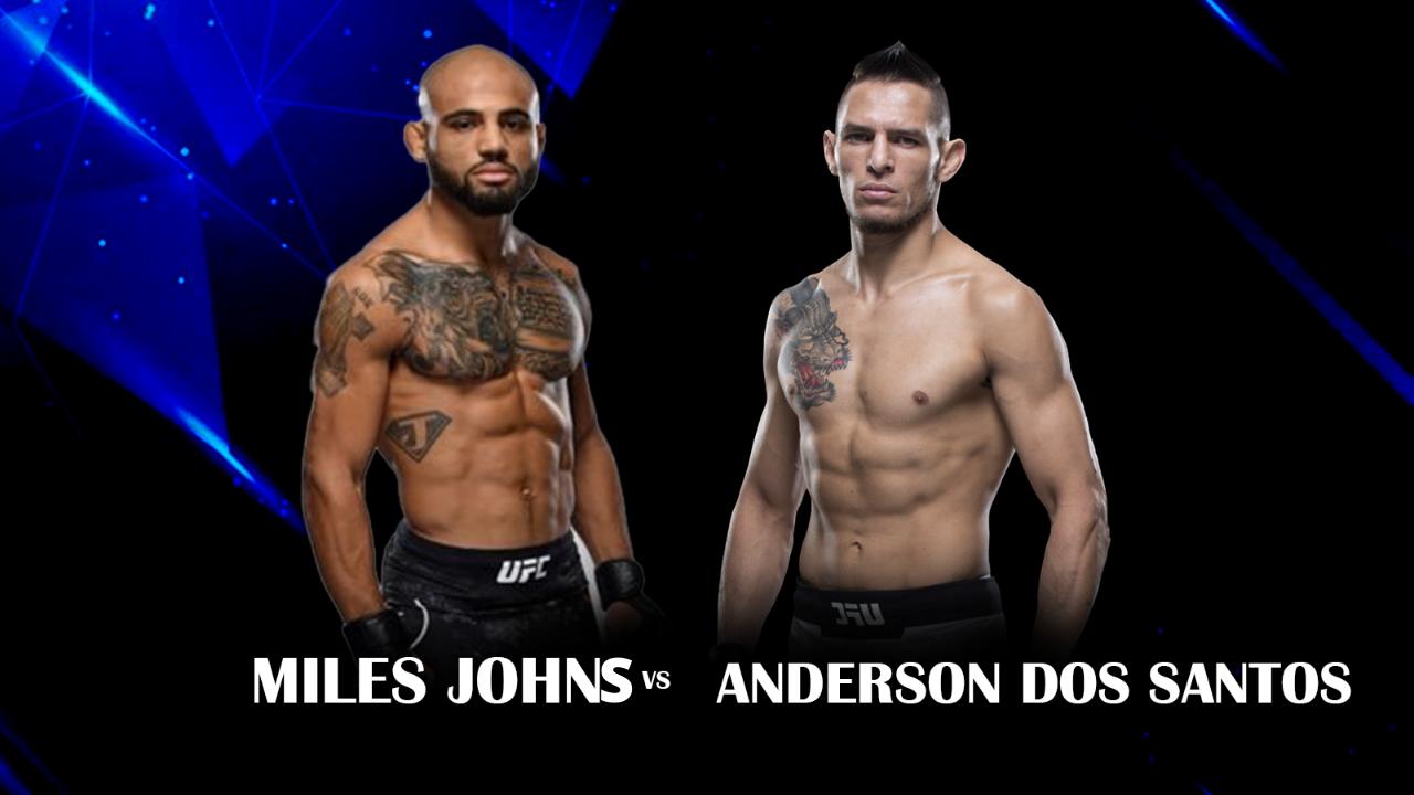Miles Johns vs Anderson Dos Santos